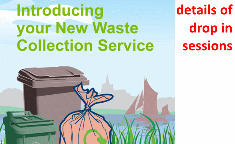 New Waste Service Drop-in Sessions