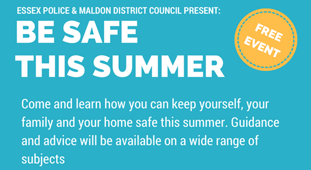 Be safe this summer