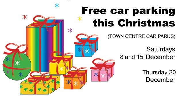 Free car parking at christmas