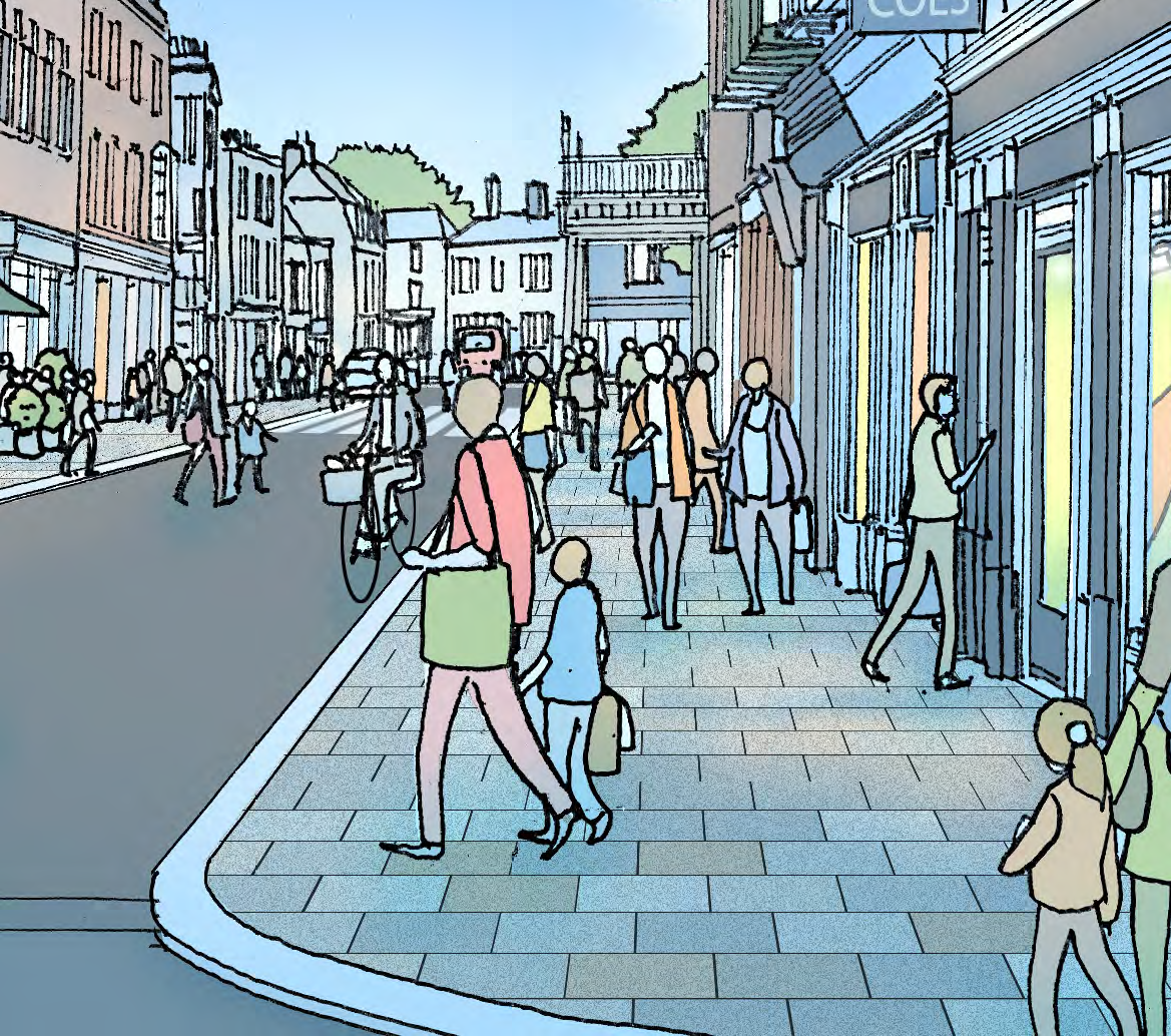 draft high street plan