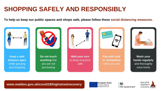 Shopping Safely and Responsibly
