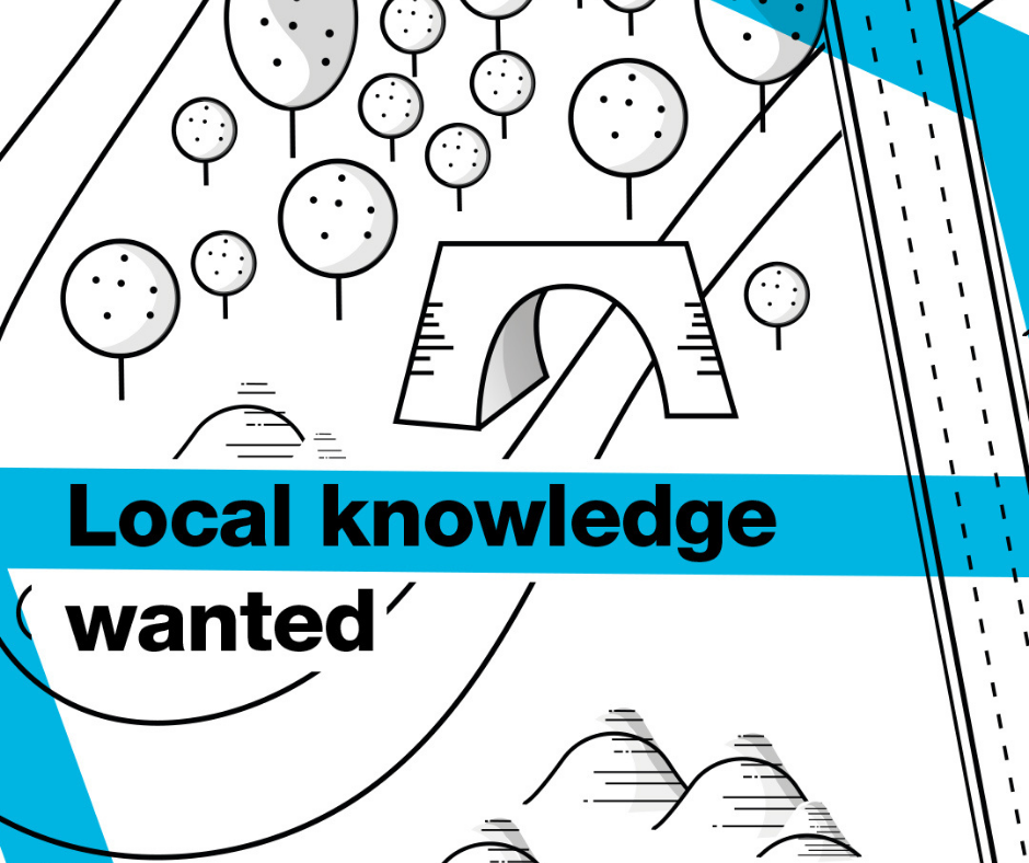Local knowledge wanted