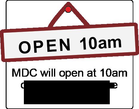 Open 10am 2018