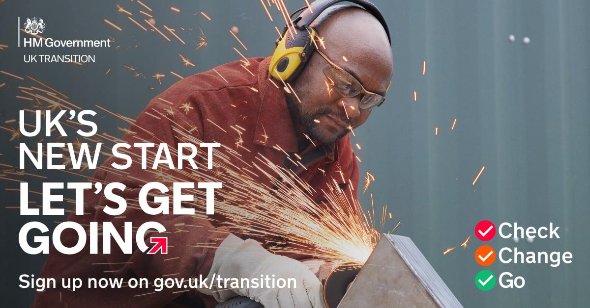 UKs New Start, Lets Get Going