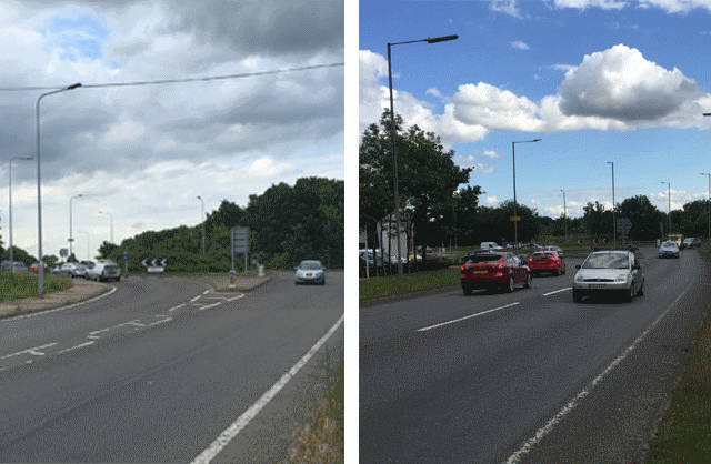 A414 Maldon-Chelmsford improvements at Spital Road and Limebrook Way roundabouts